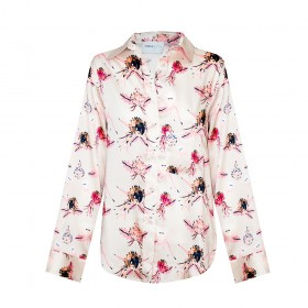 CAMISA ISABELLE BLANCHE FLORES