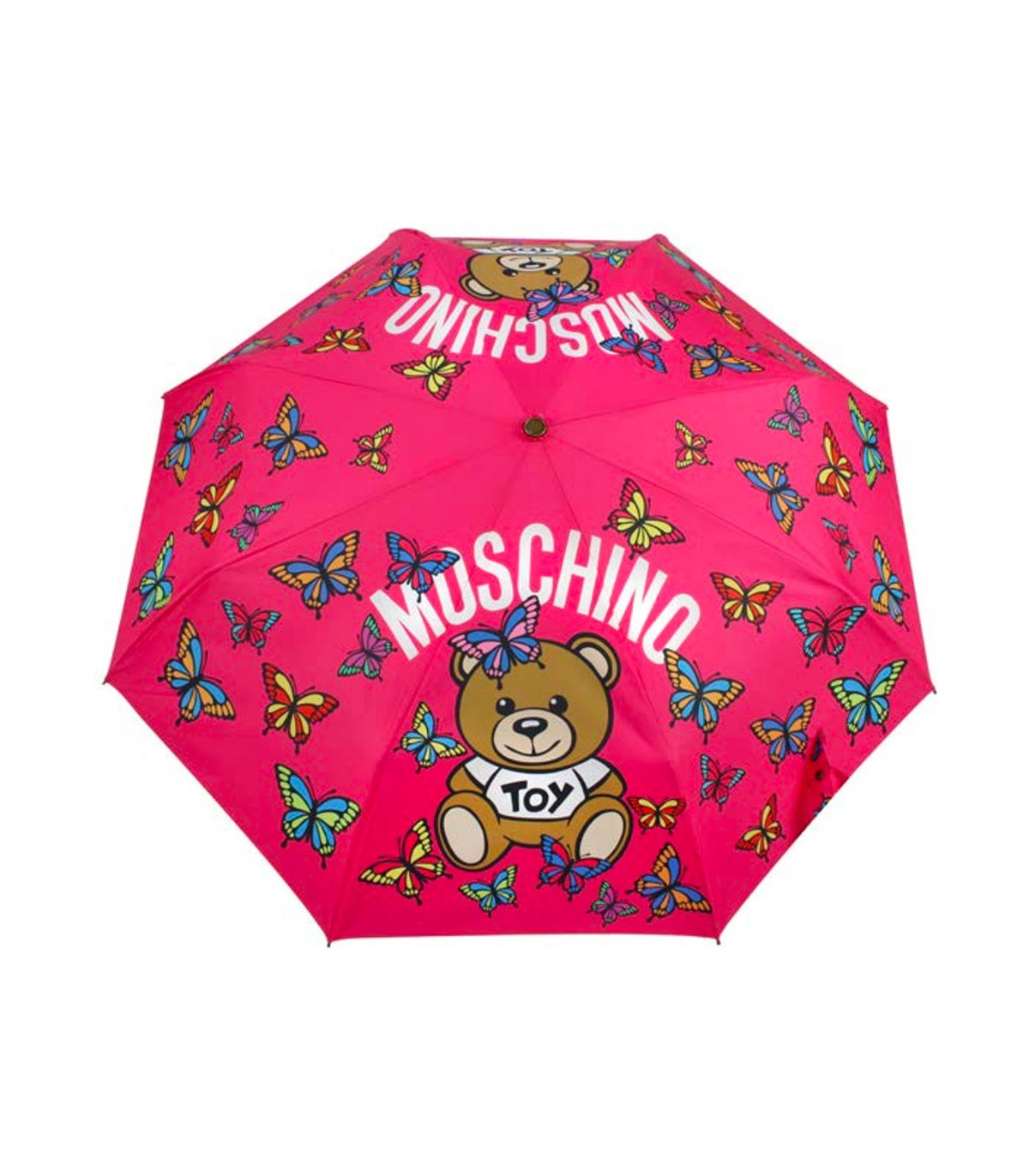 PARAGUAS MOSCHINO BUTTERFLY BEAR
