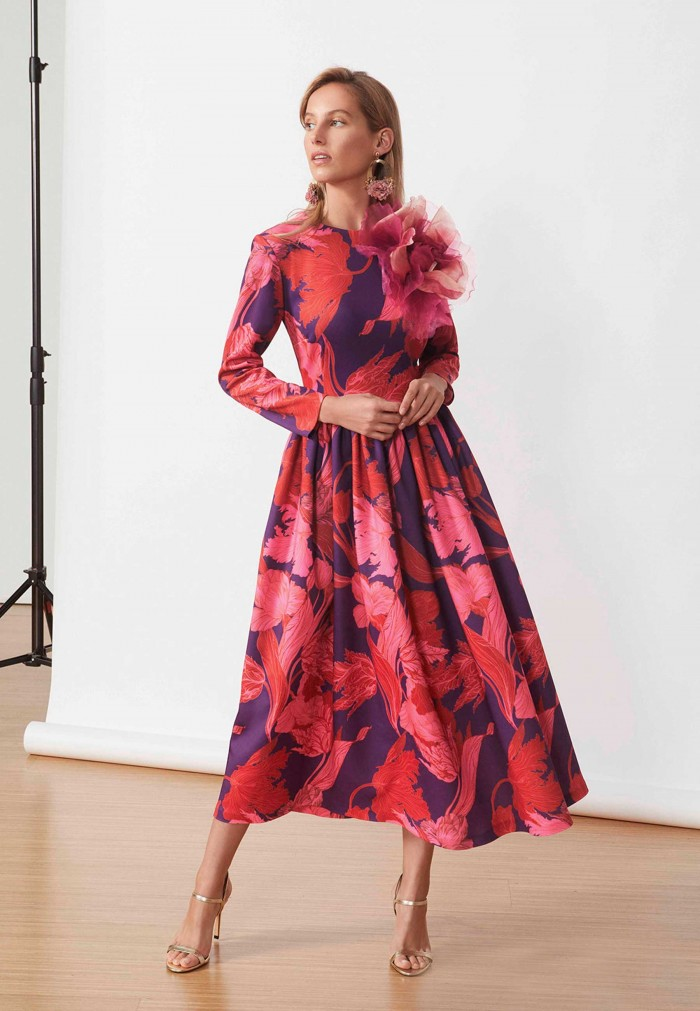 MATILDE CANO PRINT DRESS