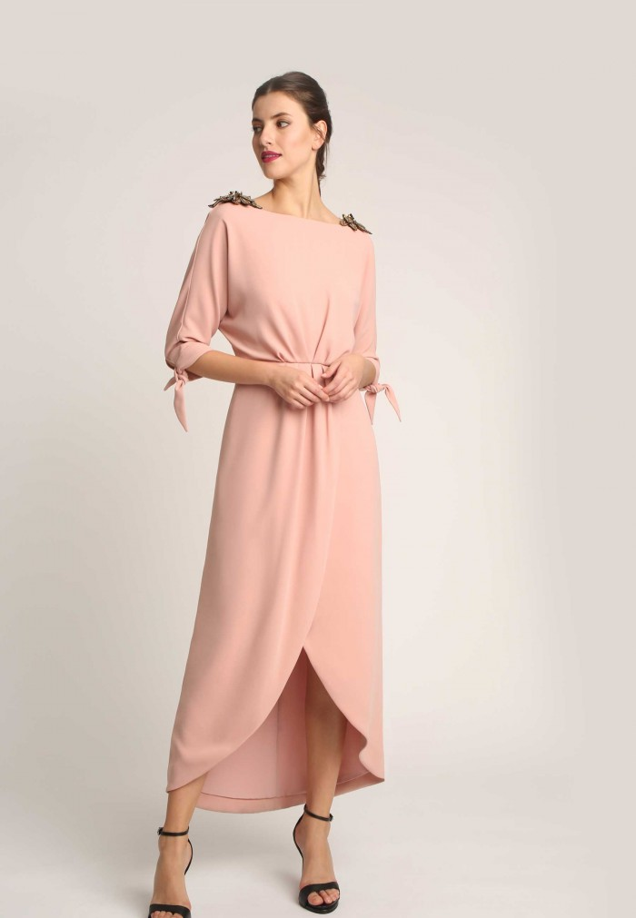 ALBA CONDE ASYMMETRIC DRESS