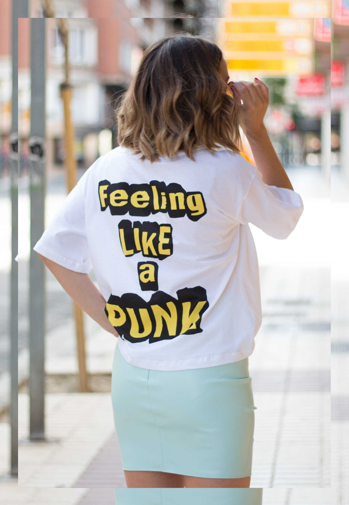 CAMISETA DENNY ROSE PUNK