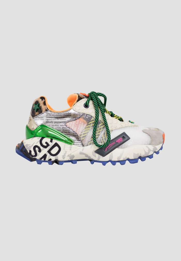 ZAPATILLAS EXE ANIMAL PRINT OFFWHITE
