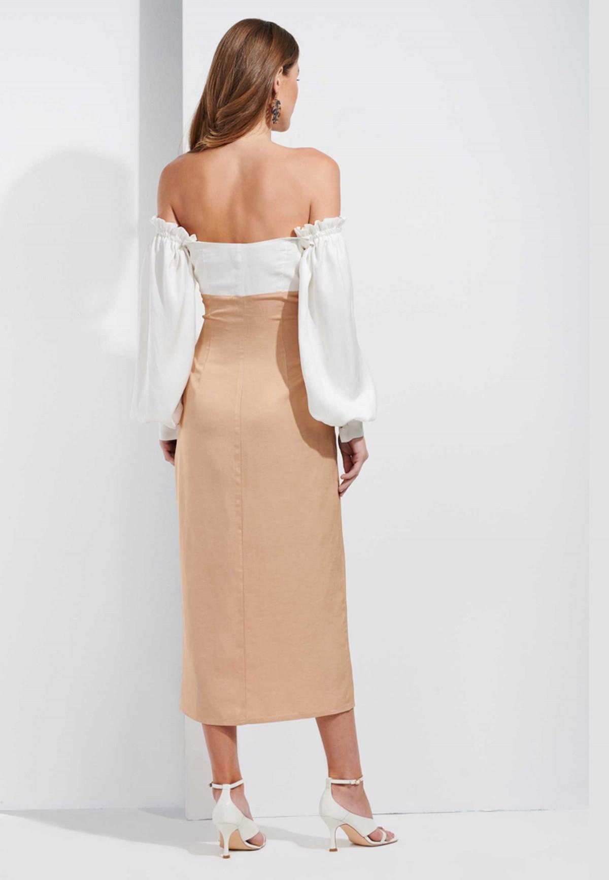 SAHOCO BICOLOR DRESS