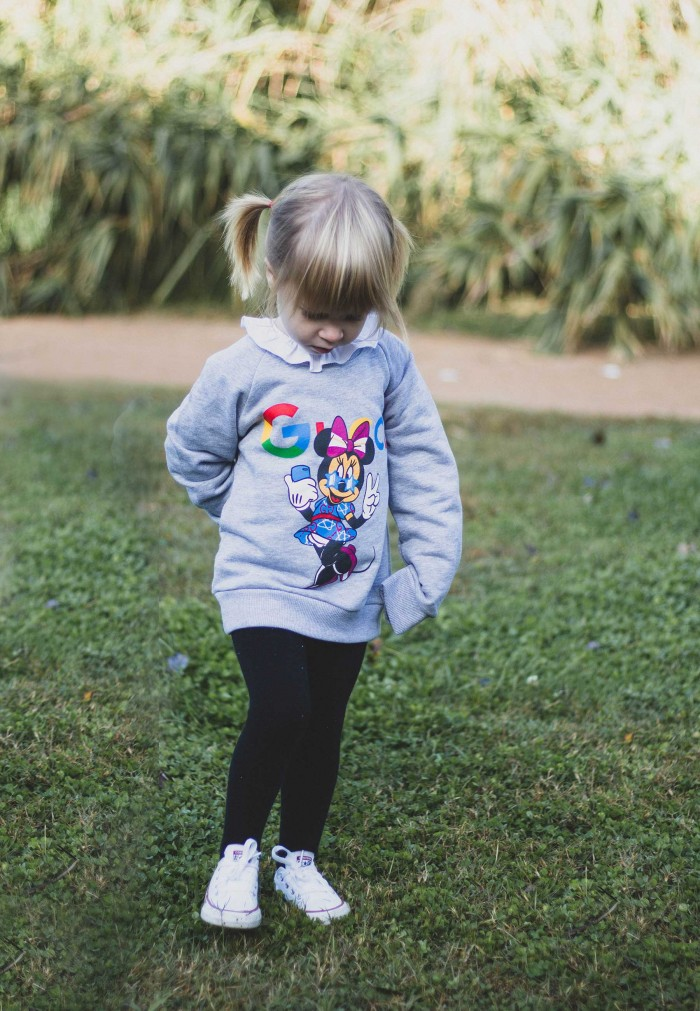 FYF KIDS MINNIE GUCCI SWEATSHIRT