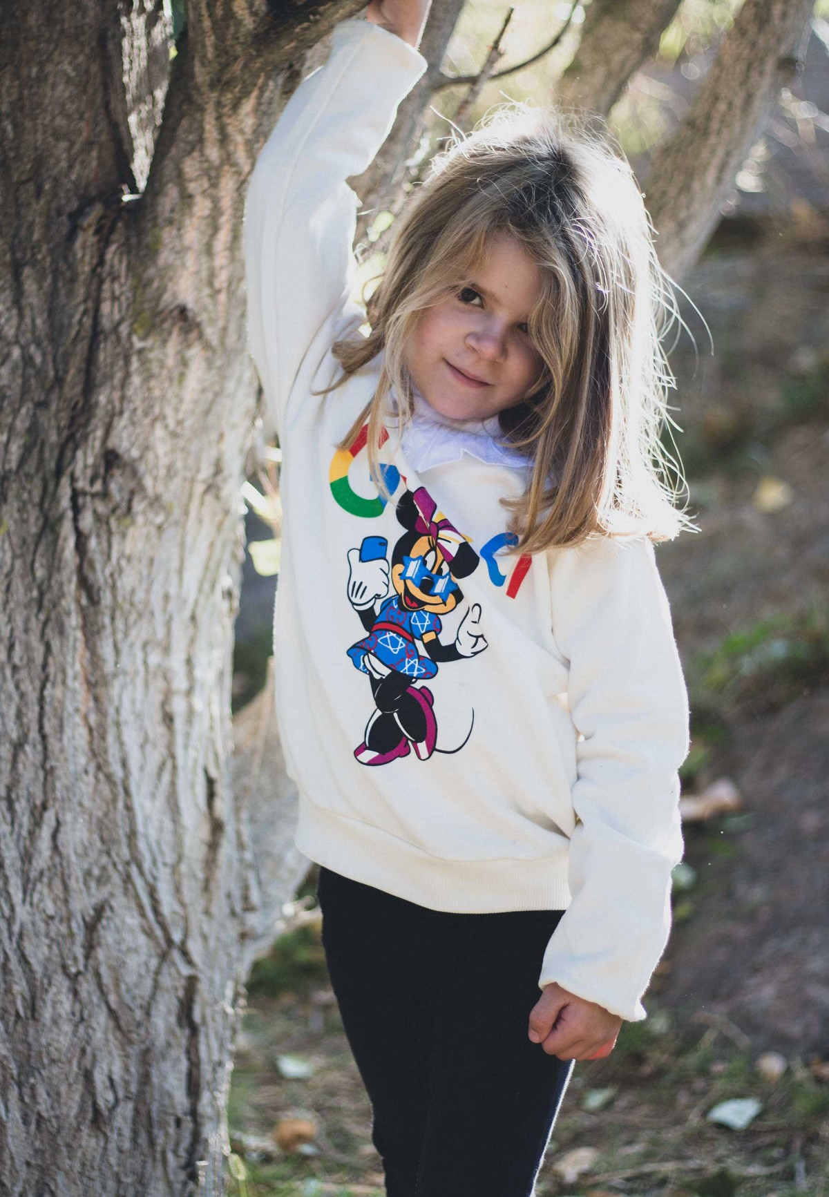 SUDADERA FYF KIDS MINNIE GUCCI