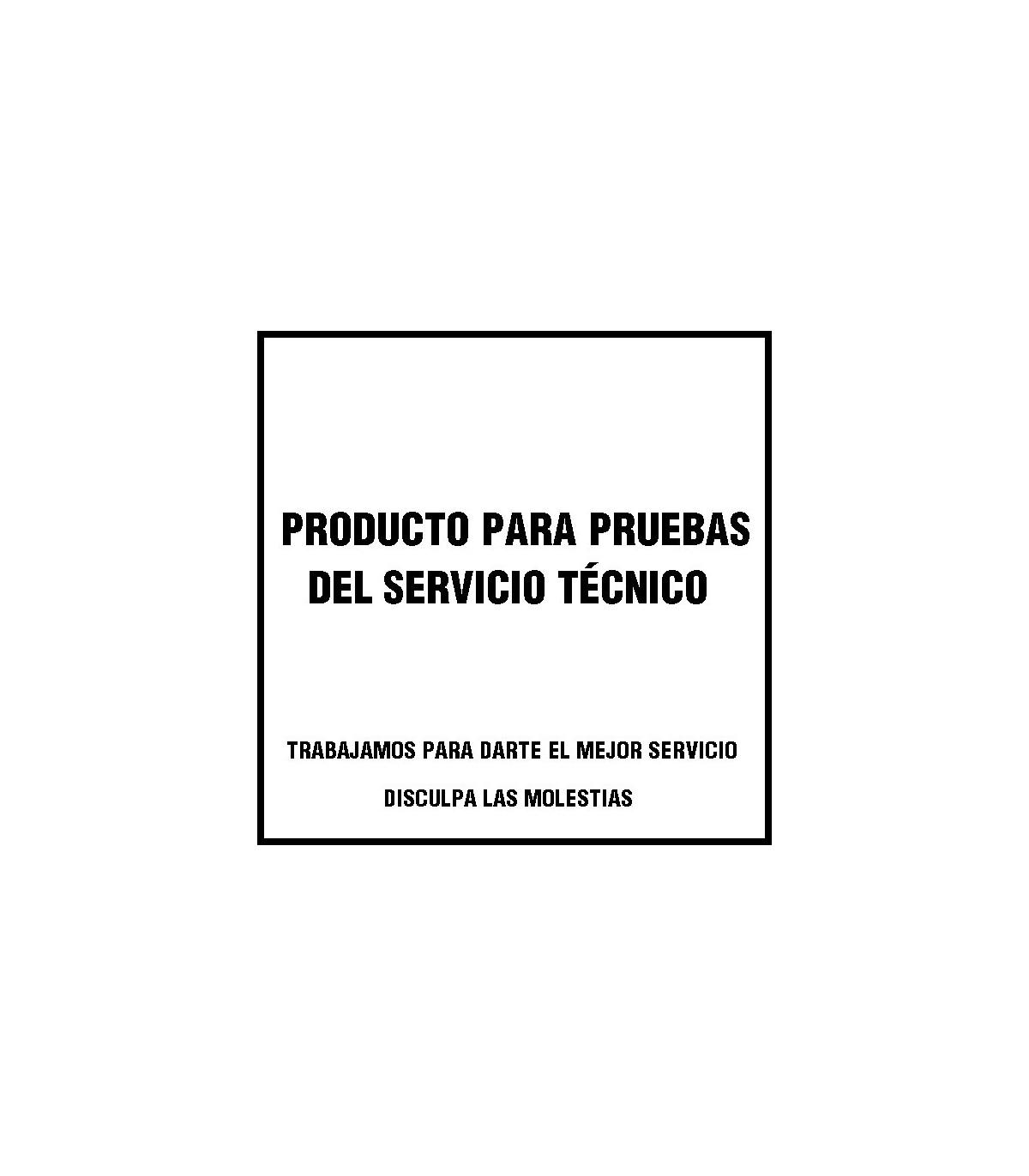 Producto servicio técnico