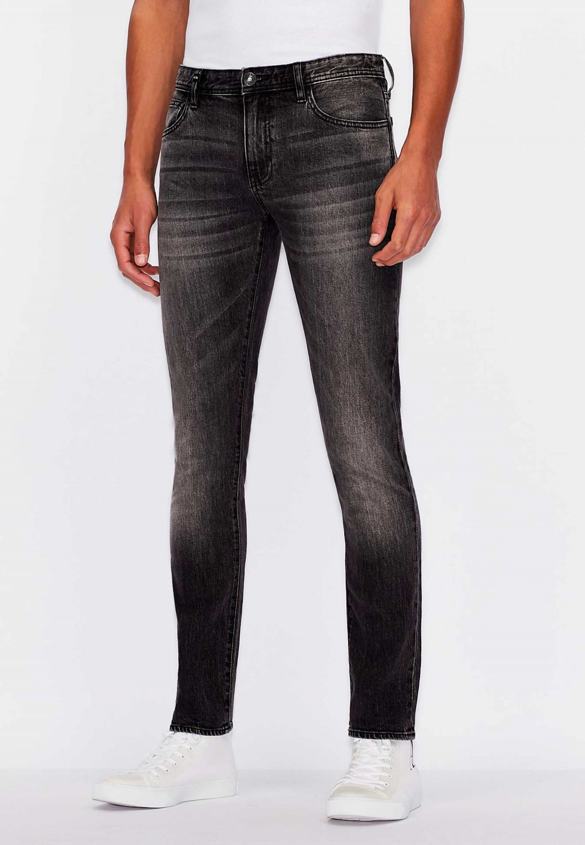 ARMANI EXCHANGE GRIS DENIM
