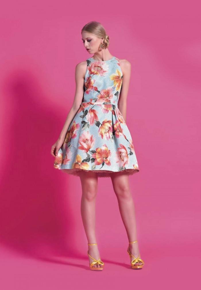 NB STYLE FLOWERES DRESS