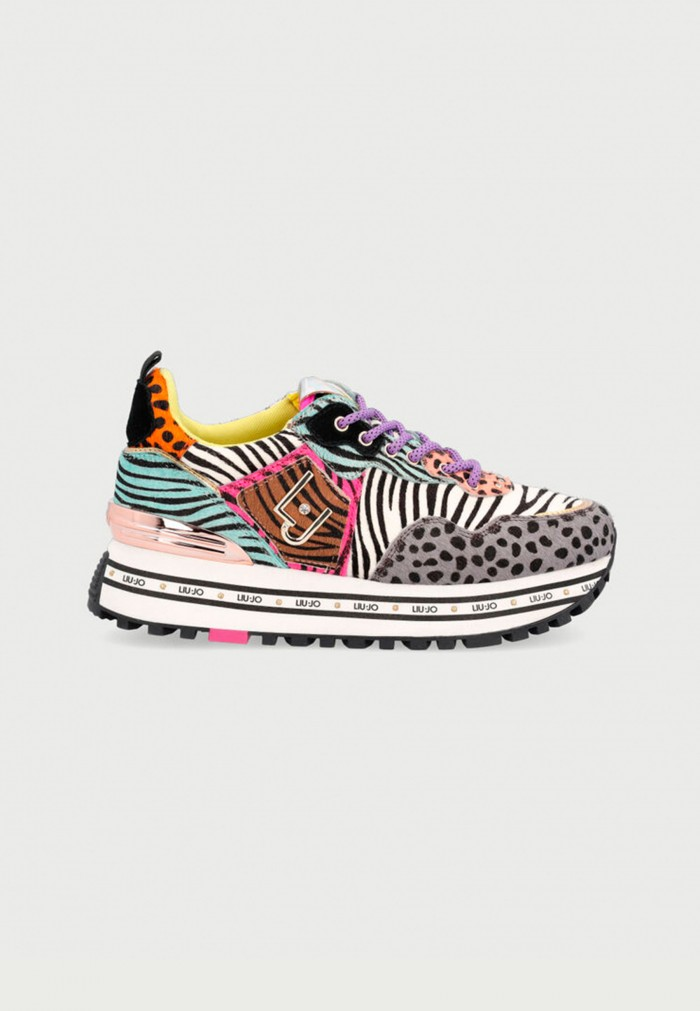 LIU-JO MAXI WONDER ANIMAL PRINT SNEAKERS