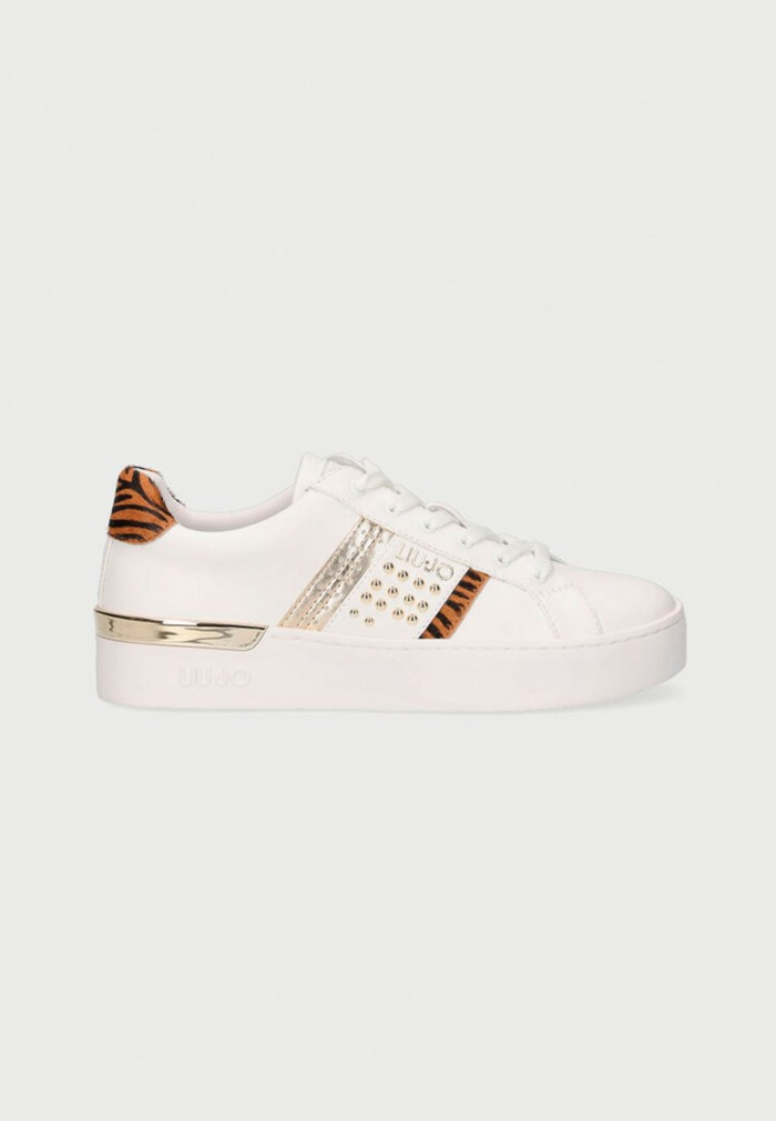 LIU-JO SILVIA ANIMAL PRINT SNEAKERS
