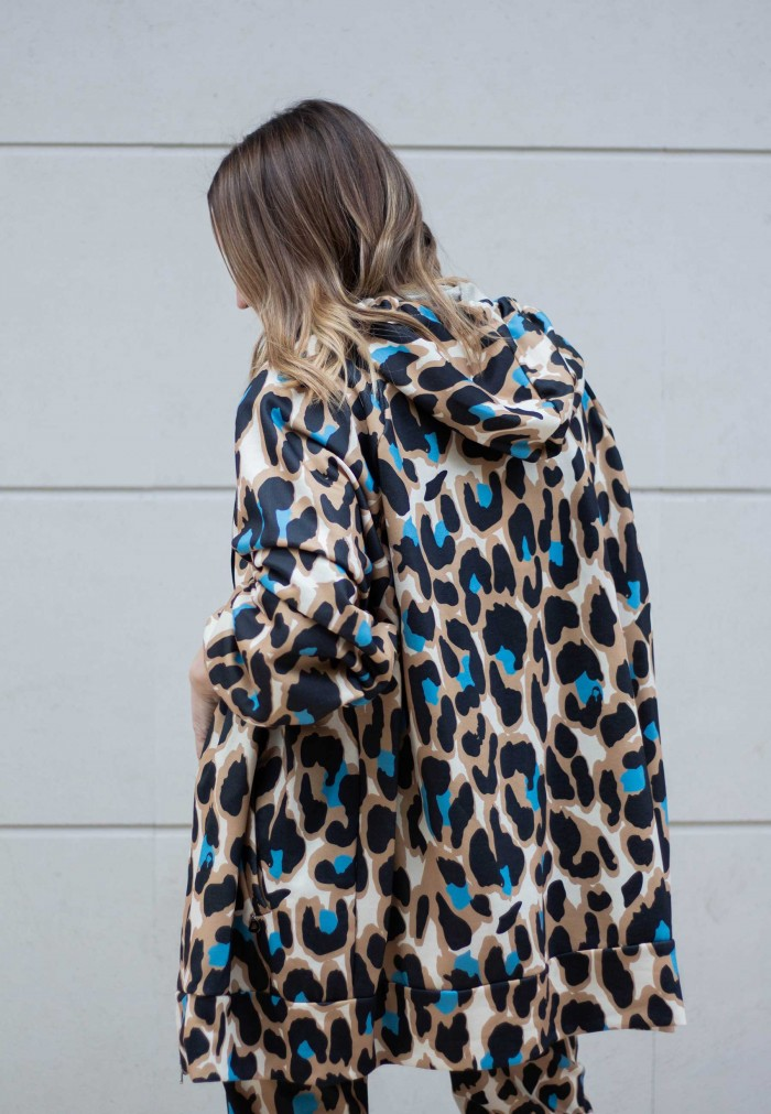FELPA DIXIE ANIMAL PRINT
